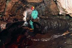 Grotta di Attila - Passo di Lanza - interno