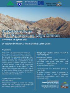 Geoescursione pramosio dimon_programma